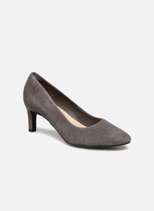 Zapatos de tacón Clarks Calla Rose Gris vista de detalle / par