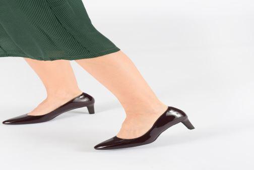 Zapatos de tacón Clarks Calla Rose Negro vista de abajo