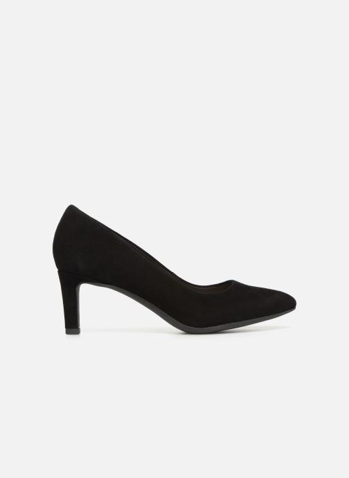 Zapatos de tacón Clarks Calla Rose Negro vistra trasera