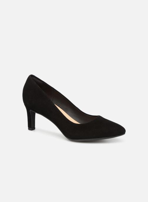 Høje hæle Clarks Calla Rose Sort detaljeret billede af skoene