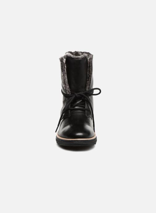 Bottines et boots Clarks Sharon Pearl Noir vue portées chaussures