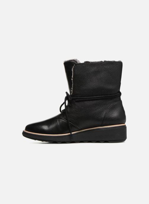 Bottines et boots Clarks Sharon Pearl Noir vue face