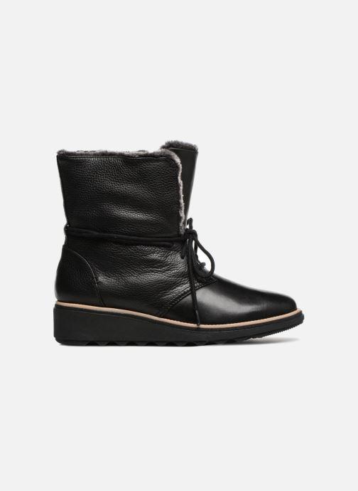 Bottines et boots Clarks Sharon Pearl Noir vue derrière