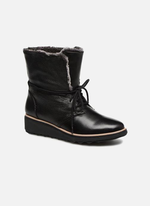 Bottines et boots Clarks Sharon Pearl Noir vue détail/paire