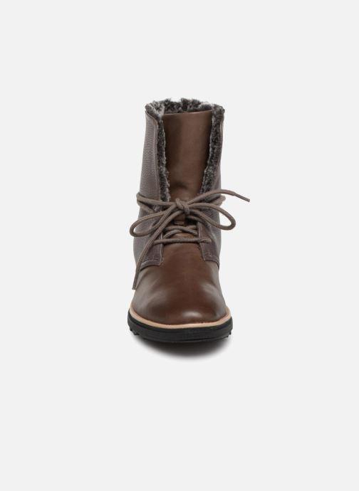Bottines et boots Clarks Sharon Pearl Marron vue portées chaussures
