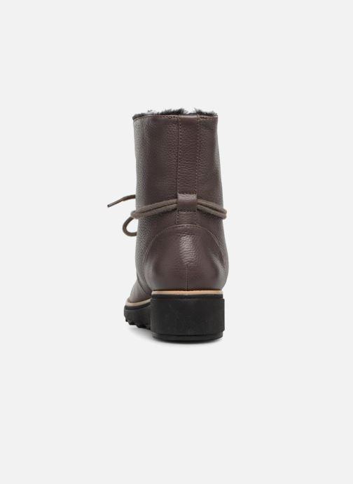 Bottines et boots Clarks Sharon Pearl Marron vue droite