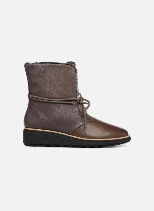 Boots en enkellaarsjes Clarks Sharon Pearl Bruin achterkant