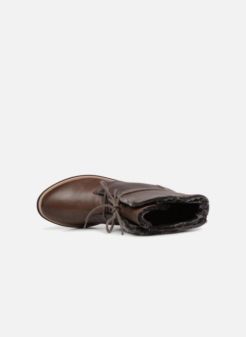 Boots en enkellaarsjes Clarks Sharon Pearl Bruin links