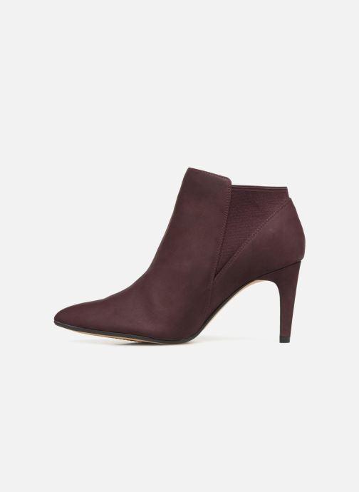 Boots en enkellaarsjes Clarks Laina Violet Paars voorkant