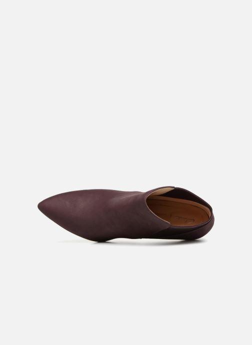 Boots en enkellaarsjes Clarks Laina Violet Paars links