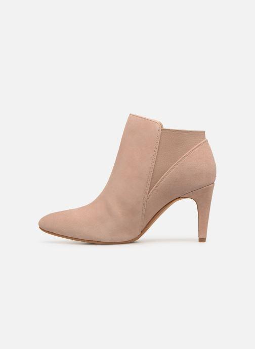 Bottines et boots Clarks Laina Violet Rose vue face