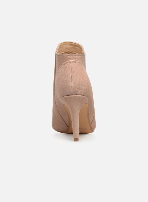 Bottines et boots Clarks Laina Violet Rose vue droite