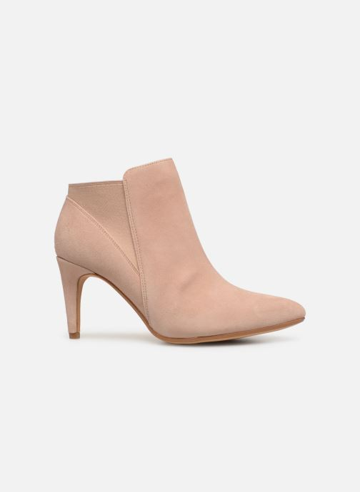 Boots en enkellaarsjes Clarks Laina Violet Roze achterkant