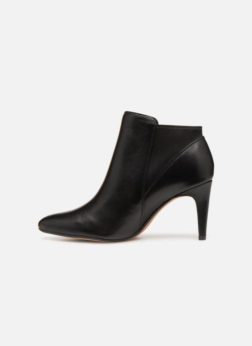 Bottines et boots Clarks Laina Violet Noir vue face