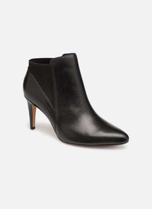Ankelstøvler Clarks Laina Violet Sort detaljeret billede af skoene