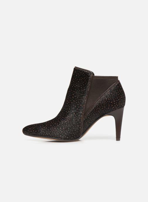 Boots en enkellaarsjes Clarks Laina Violet Bruin voorkant
