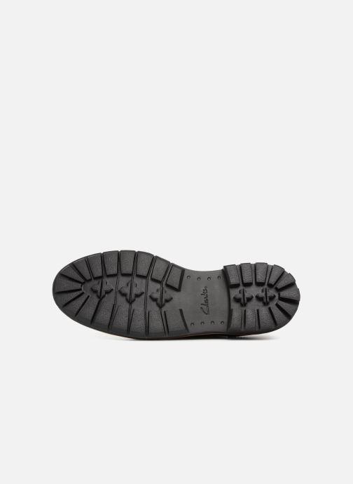 Chaussures à lacets Clarks Batcombe Wing Noir vue haut