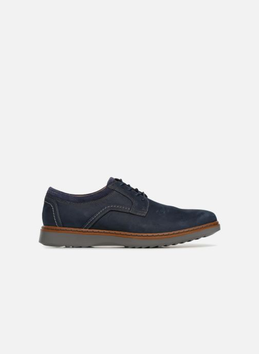 Navy Geo Unstructured Un Nubuck Lace Clarks qYgPwP
