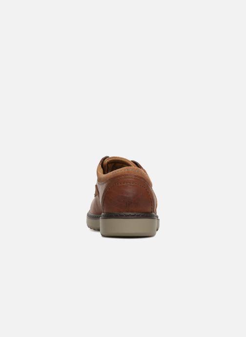 Chaussures à lacets Clarks Unstructured Un Geo Lace Marron vue droite