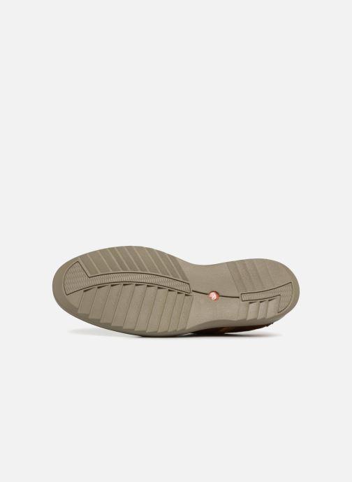 Chaussures à lacets Clarks Unstructured Un Geo Lace Marron vue haut