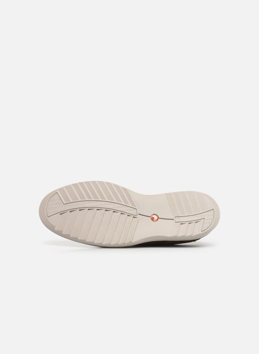Chaussures à lacets Clarks Unstructured Un Geo Lace Vert vue haut