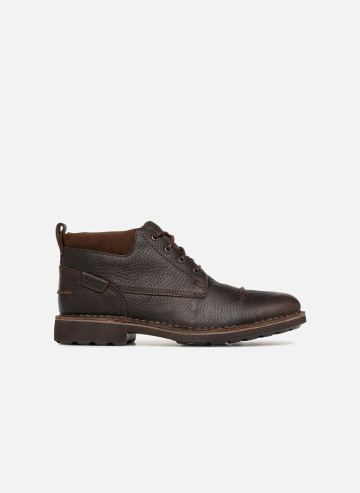 Bottines et boots Clarks Unstructured Lawes Top Marron vue derrière