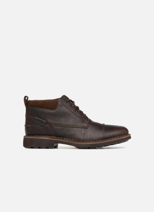 Boots en enkellaarsjes Clarks Unstructured Lawes Top Bruin achterkant