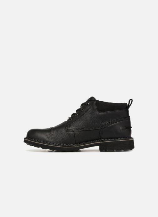 Bottines et boots Clarks Unstructured Lawes Top Noir vue face