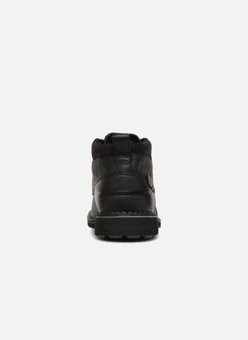 Bottines et boots Clarks Unstructured Lawes Top Noir vue droite