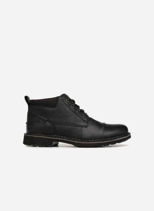 Bottines et boots Clarks Unstructured Lawes Top Noir vue derrière