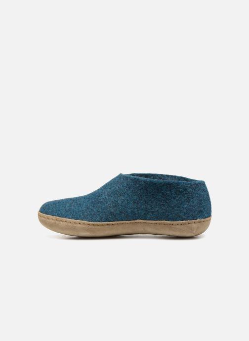 Pantoffels Glerups Porter Man Blauw voorkant