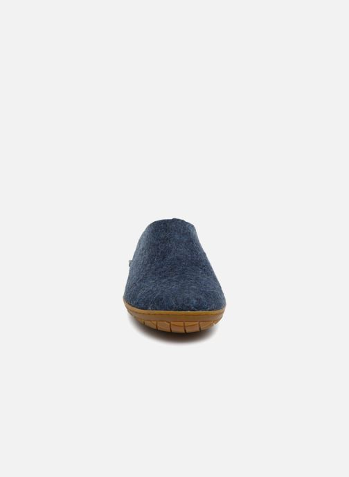 Slippers Glerups Piras Gomme Man Blue model view