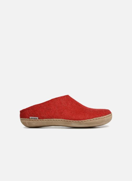 Slippers Glerups Piras Woman Red back view