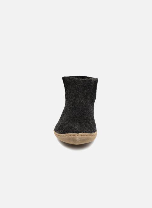 Pantoffels Glerups Poras Man Zwart model