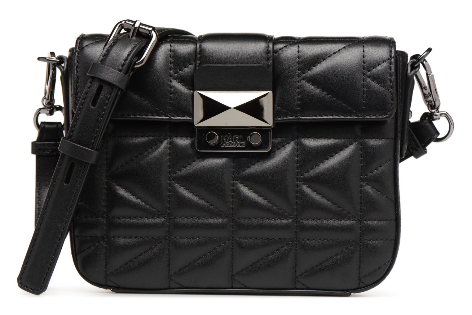 LAGERFELD Sac Black Gun Kuilted KARL Bandoulière Metal TqxwPEd