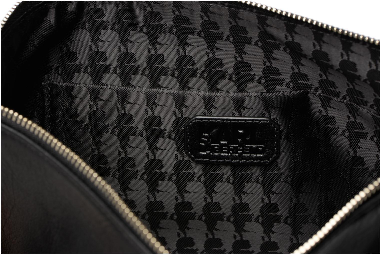 White Signature Black KARL LAGERFELD Pochette XPfw0R