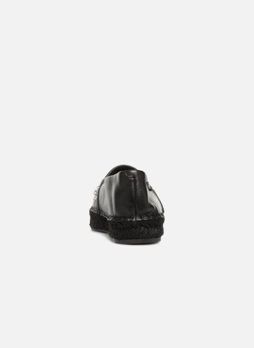 Espadrilles Karl Lagerfeld Kamini Perle Noir vue droite