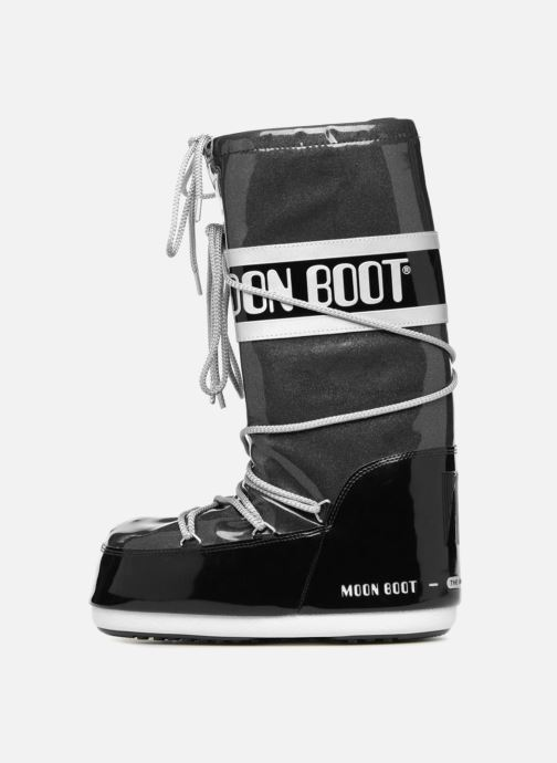 Stiefel Moon Boot STARRY schwarz ansicht von vorne