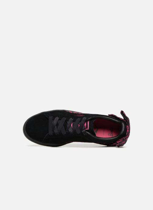 Sneakers Puma Suède 50 X Barbie Nero immagine sinistra