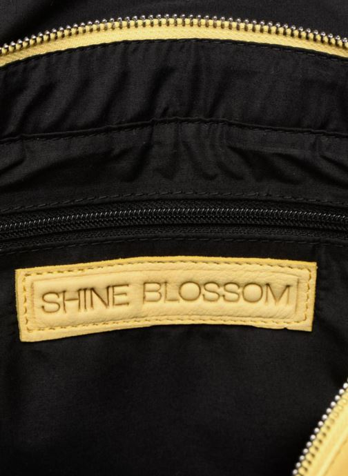 Sacs à main Shine Blossom Boston Jaune vue derrière