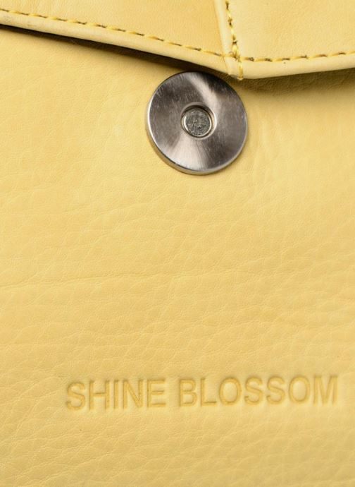 Sacs à main Shine Blossom Boston Jaune vue gauche