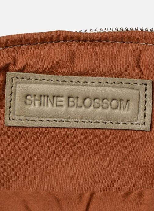 Bolsos Clutch Shine Blossom Gladys Verde vistra trasera