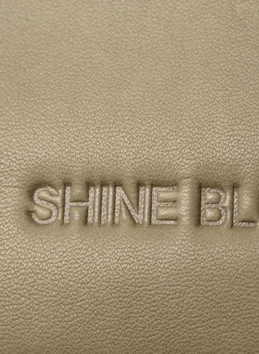 Sacs pochettes Shine Blossom Gladys Vert vue gauche