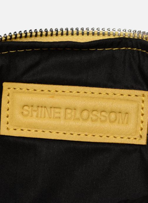Sacs pochettes Shine Blossom Gladys Jaune vue derrière