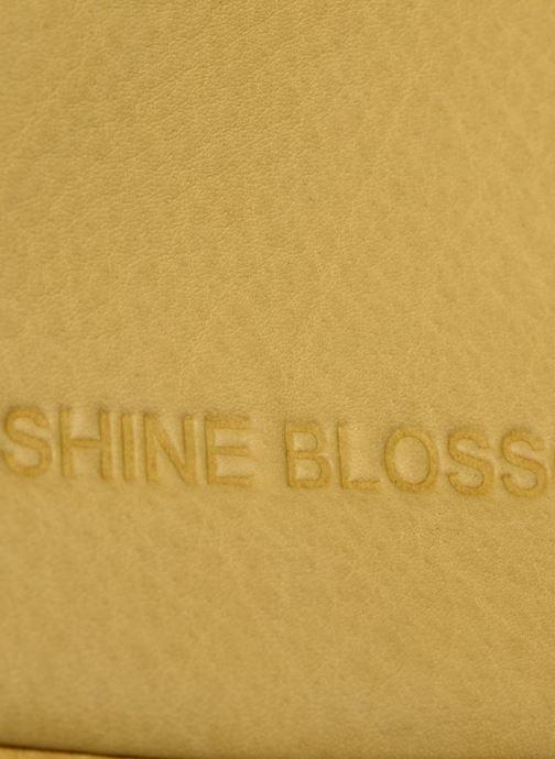 Sacs pochettes Shine Blossom Gladys Jaune vue gauche