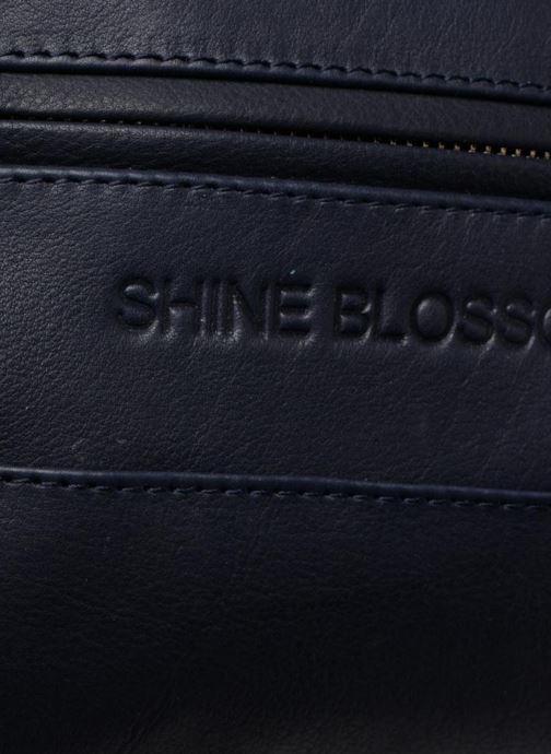 Bolsos de mano Shine Blossom Liam Azul vista lateral izquierda