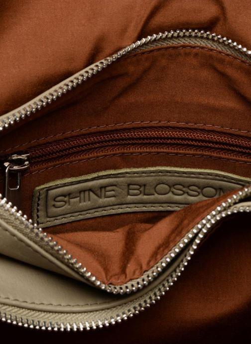 Sacs pochettes Shine Blossom Vera Vert vue derrière