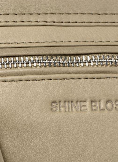 Bolsos Clutch Shine Blossom Vera Verde vista lateral izquierda