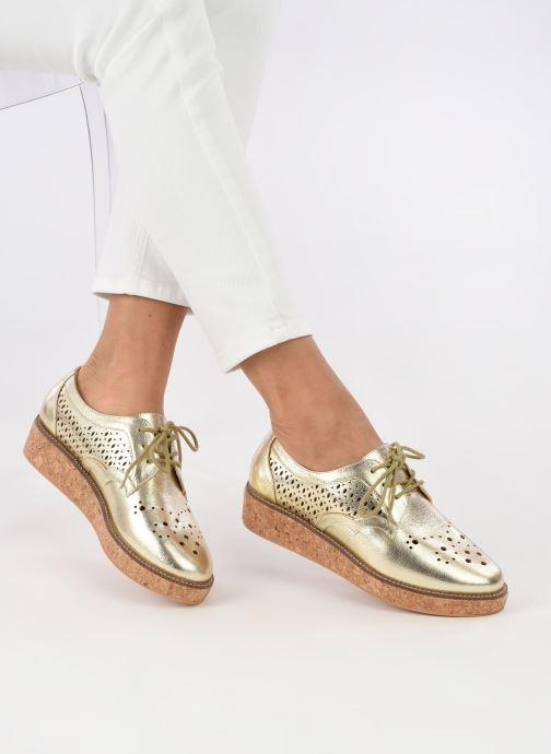 Chaussures à lacets Schmoove Woman Ariane Or et bronze vue bas / vue portée sac