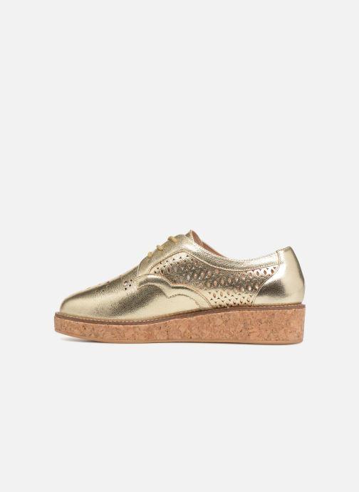 Chaussures à lacets Schmoove Woman Ariane Or et bronze vue face